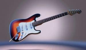 How does an electric guitar works